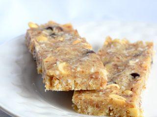 keto low carb healthy granola bars recipe