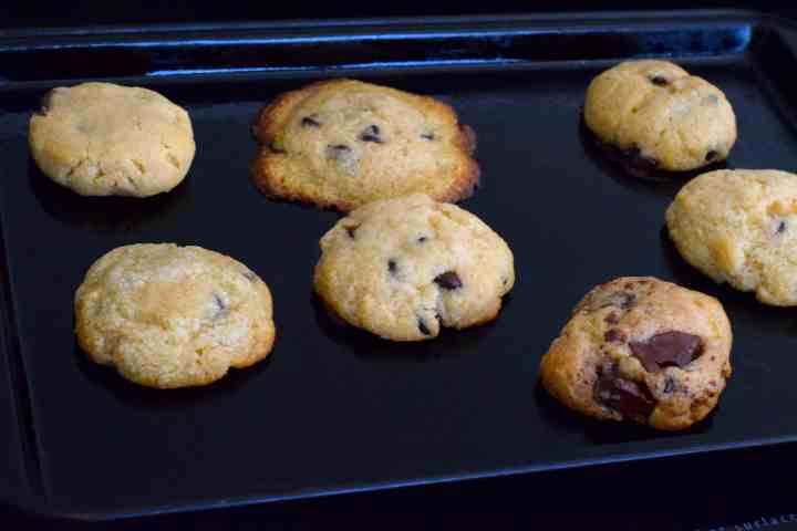 keto chocolate chip cookies experiment