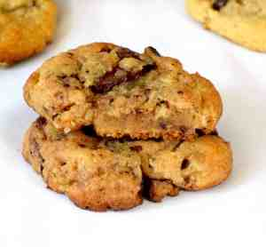 keto browned butter chocolate chip cookies recipe