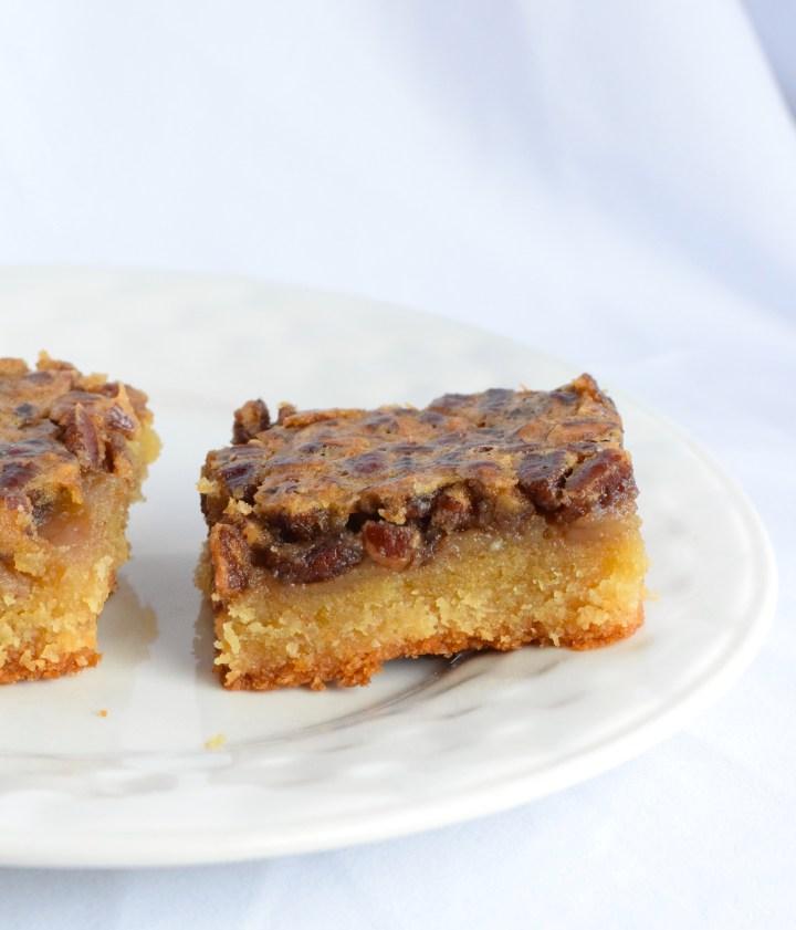 low carb pecan pie bars recipe
