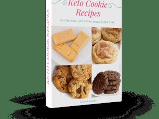 keto cookie recipe book