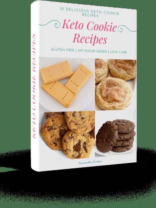 Keto Cookie Recipe E-Book