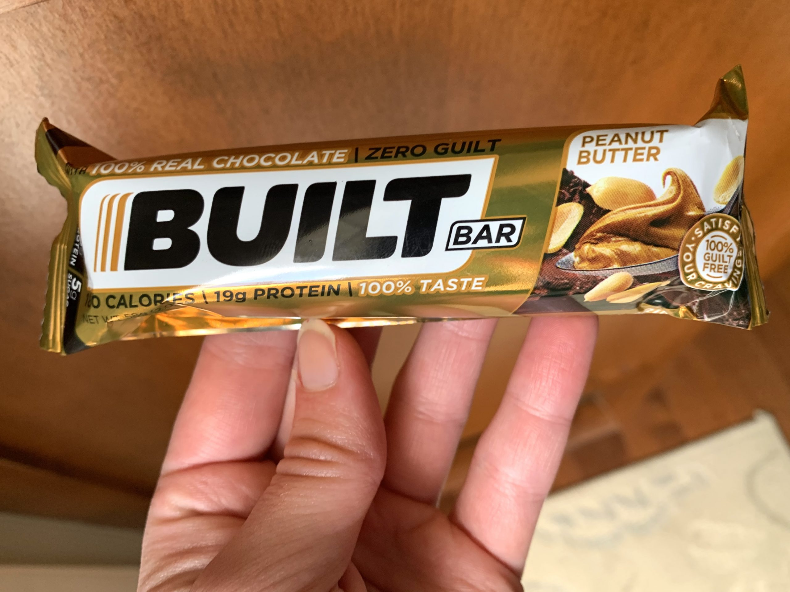 built bar peanut butter review