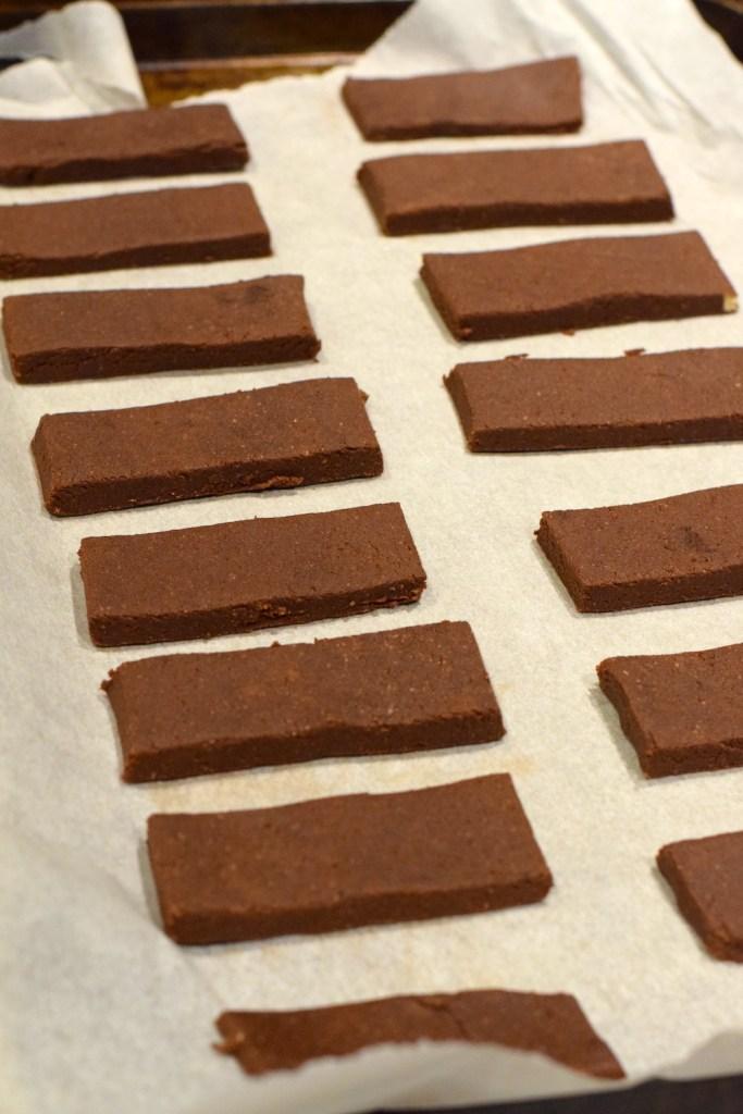 keto coconut flour chocolate shortbread cookies