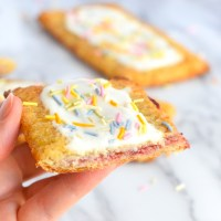 Keto Strawberry Pop Tarts
