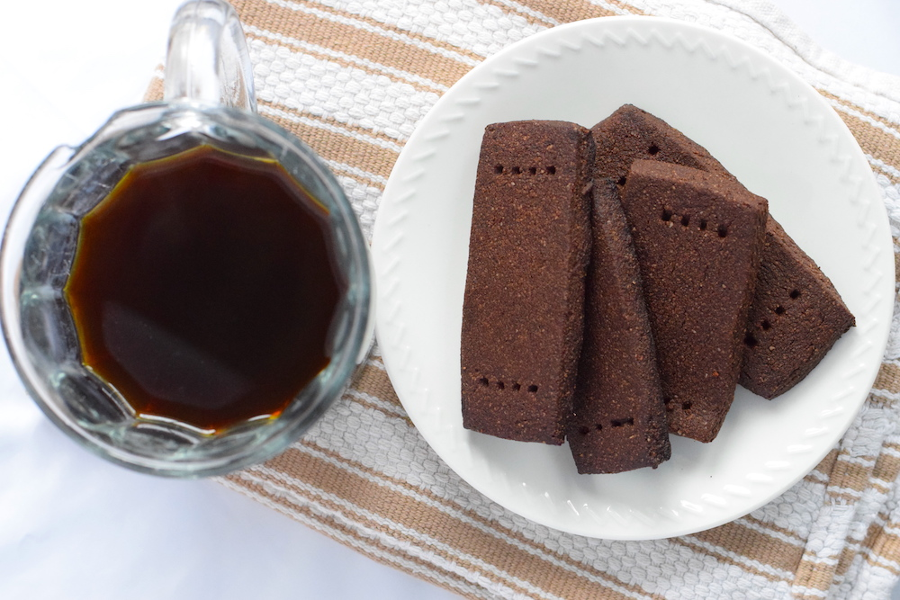 low carb chocolate shortbread cookies