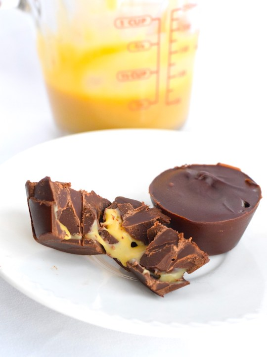 Keto Chocolate Caramel Cups