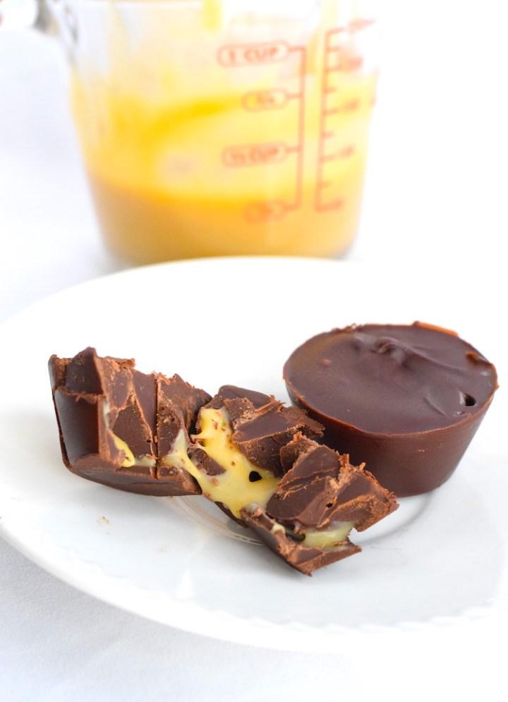 keto caramel chocolates