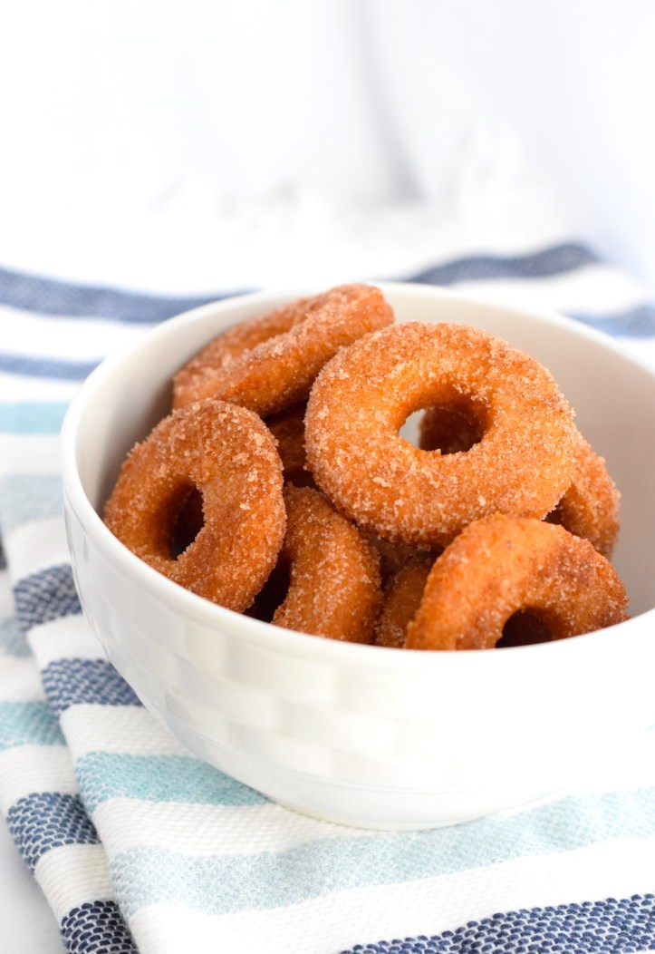 keto fried cinnamon sugar donuts recipe