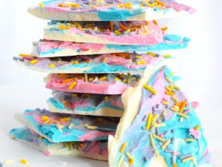 sugar free unicorn low carb bark