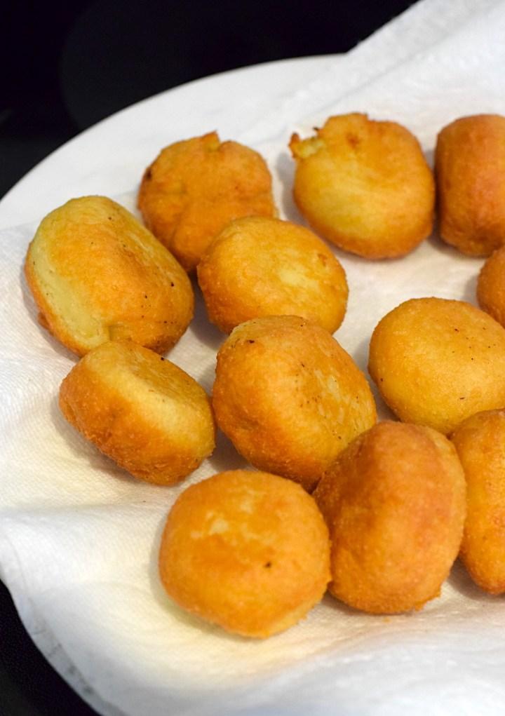 keto fried mac and cheese balls
