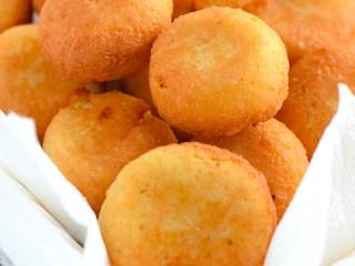 low carb cauliflower cheese balls