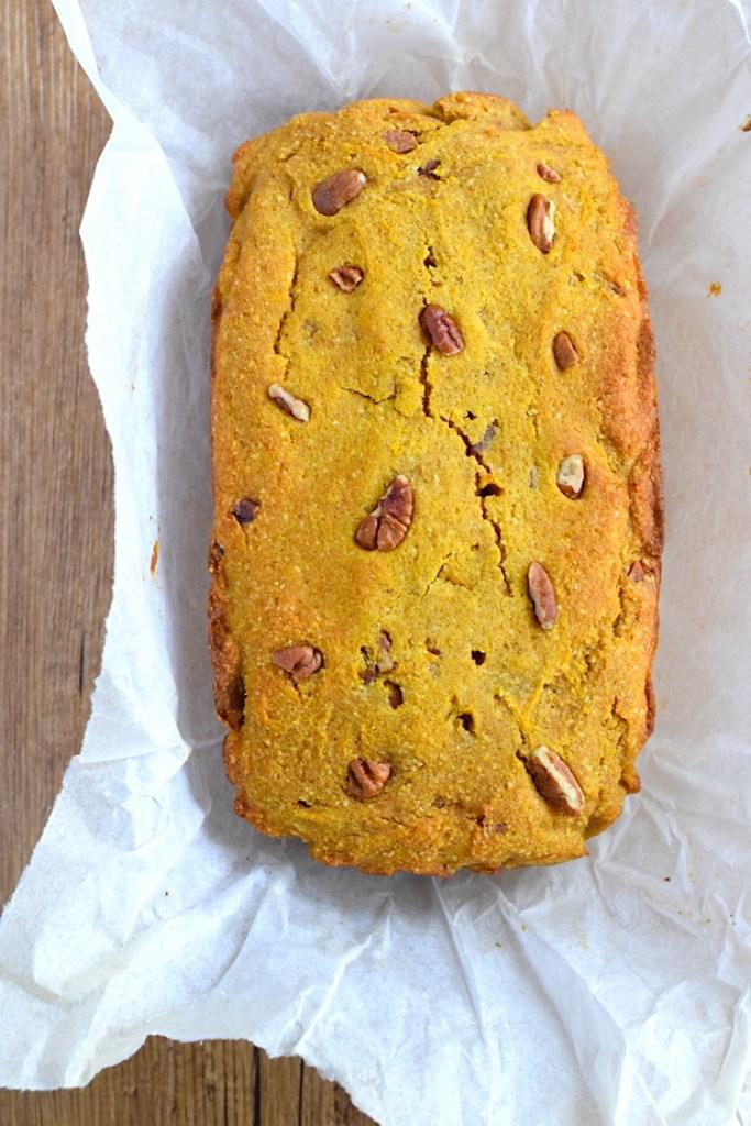 keto pumpkin bread recipe