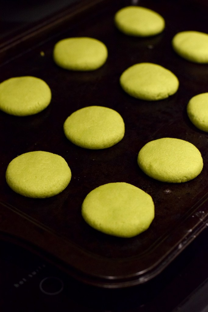 green keto sugar cookies