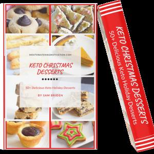 keto christmas desserts recipe book