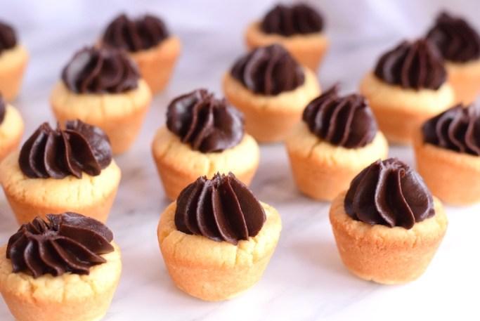 keto chocolate caramel cookies