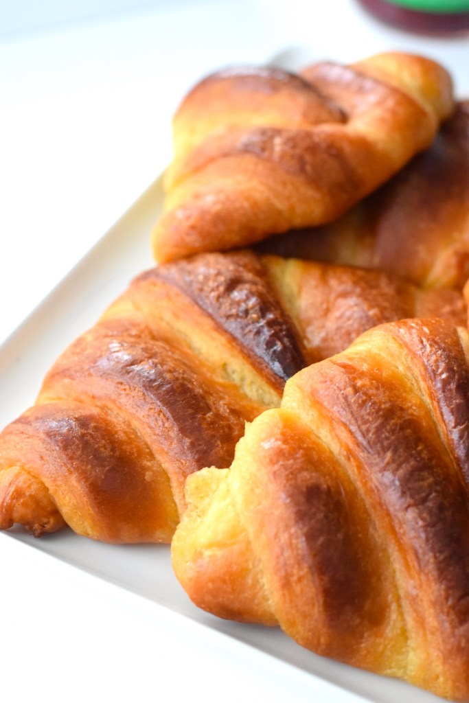 keto butter croissants