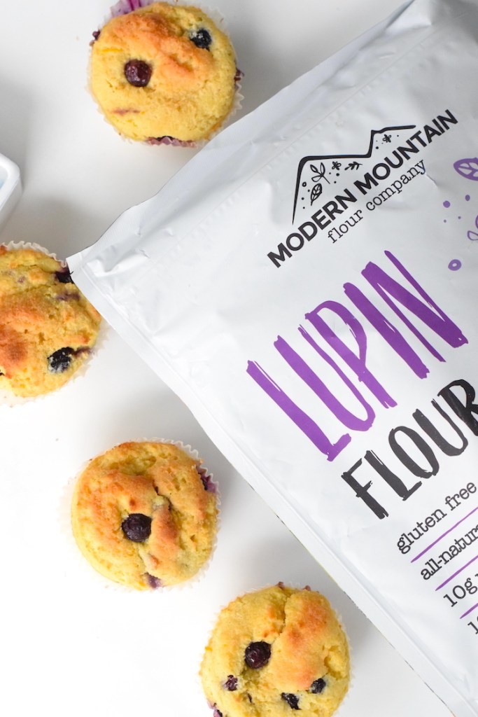 lupin flour muffins modern mountain