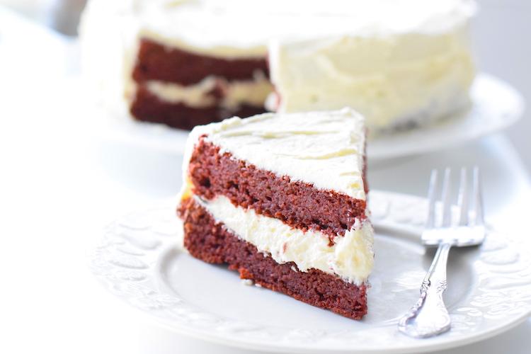 sugar free red velvet cake