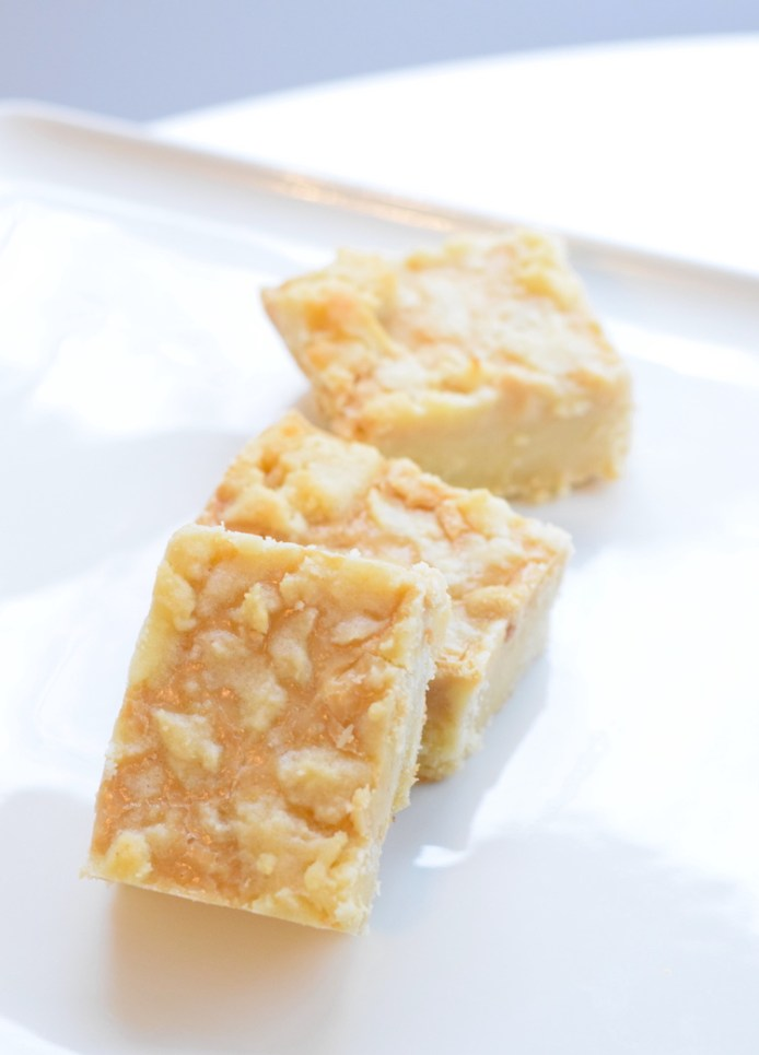 keto salted caramel bars
