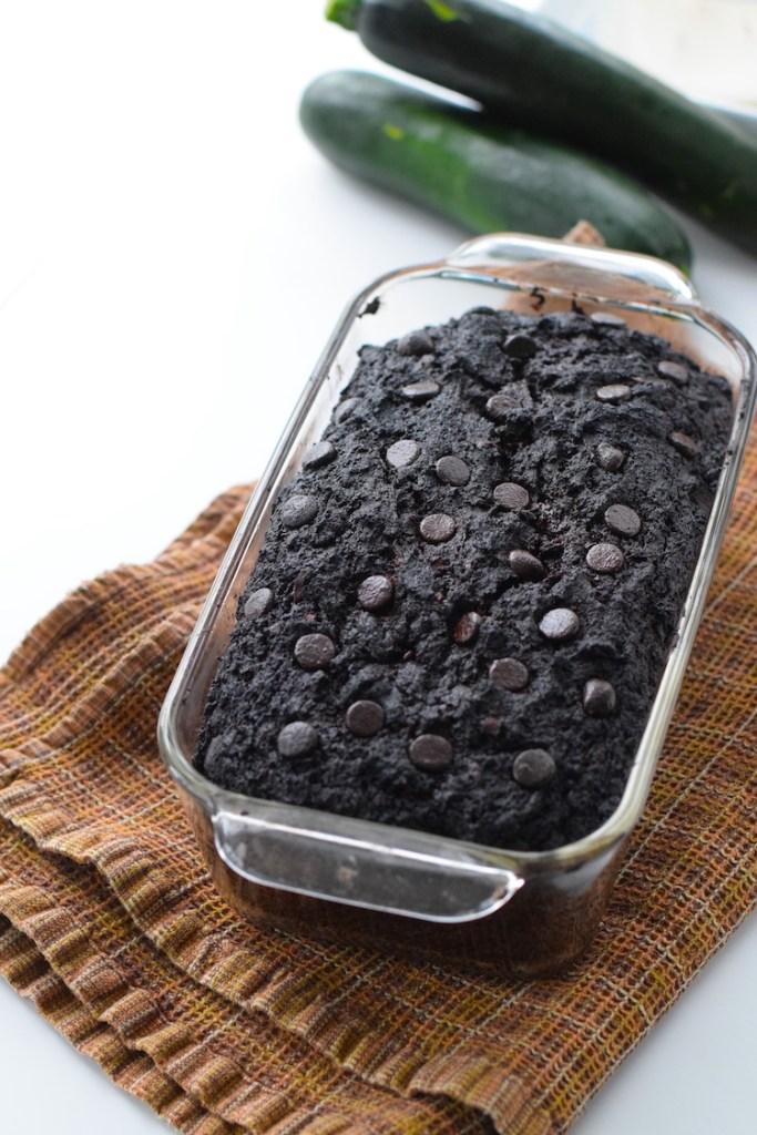 low carb chocolate zucchini bread recipe
