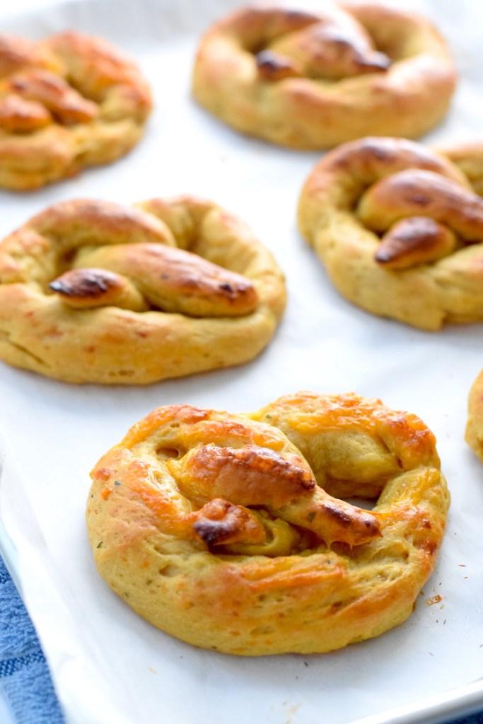 keto soft pretzels