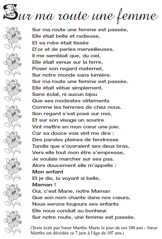 Sur Ma Route Paroles : route, paroles, Mouvement, Amicitia, Route, Femme