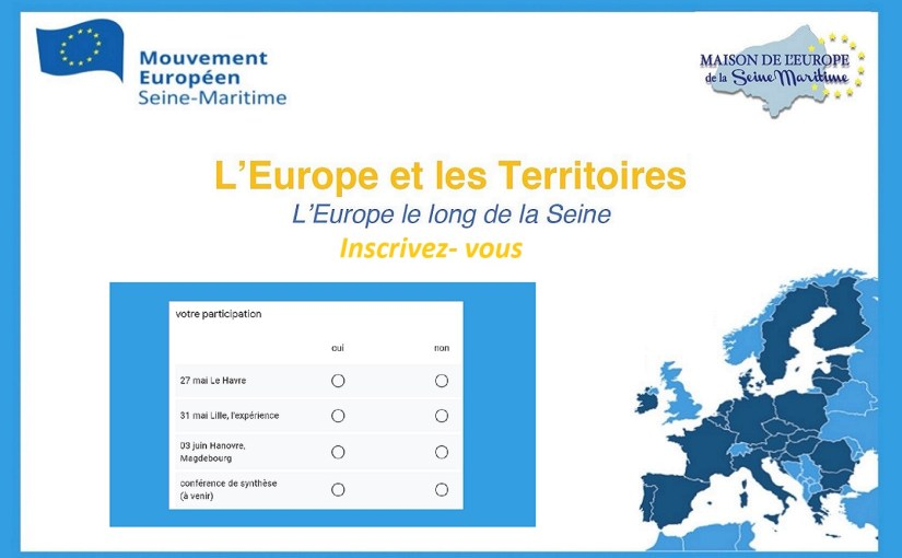 L'Europe le long de la seine, Inscrivez-vous !