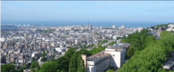 u Havre, deux projets, l'un urbain, l'autre participatif