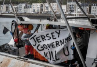 Pêcheurs à Jersey