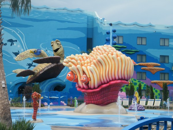 Disney Art of Animation Resorts Pool