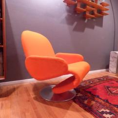 Chair 1 2 Bentwood Rocking Verner Panton For Fritz Hansen System 3 Model E Lounge
