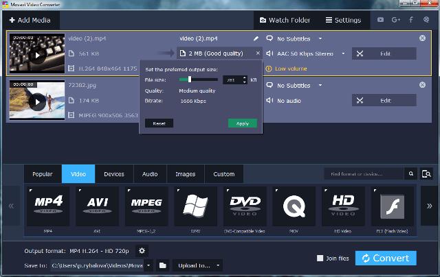 Movavi Video Converter Premium 20.0.0 With Crack
