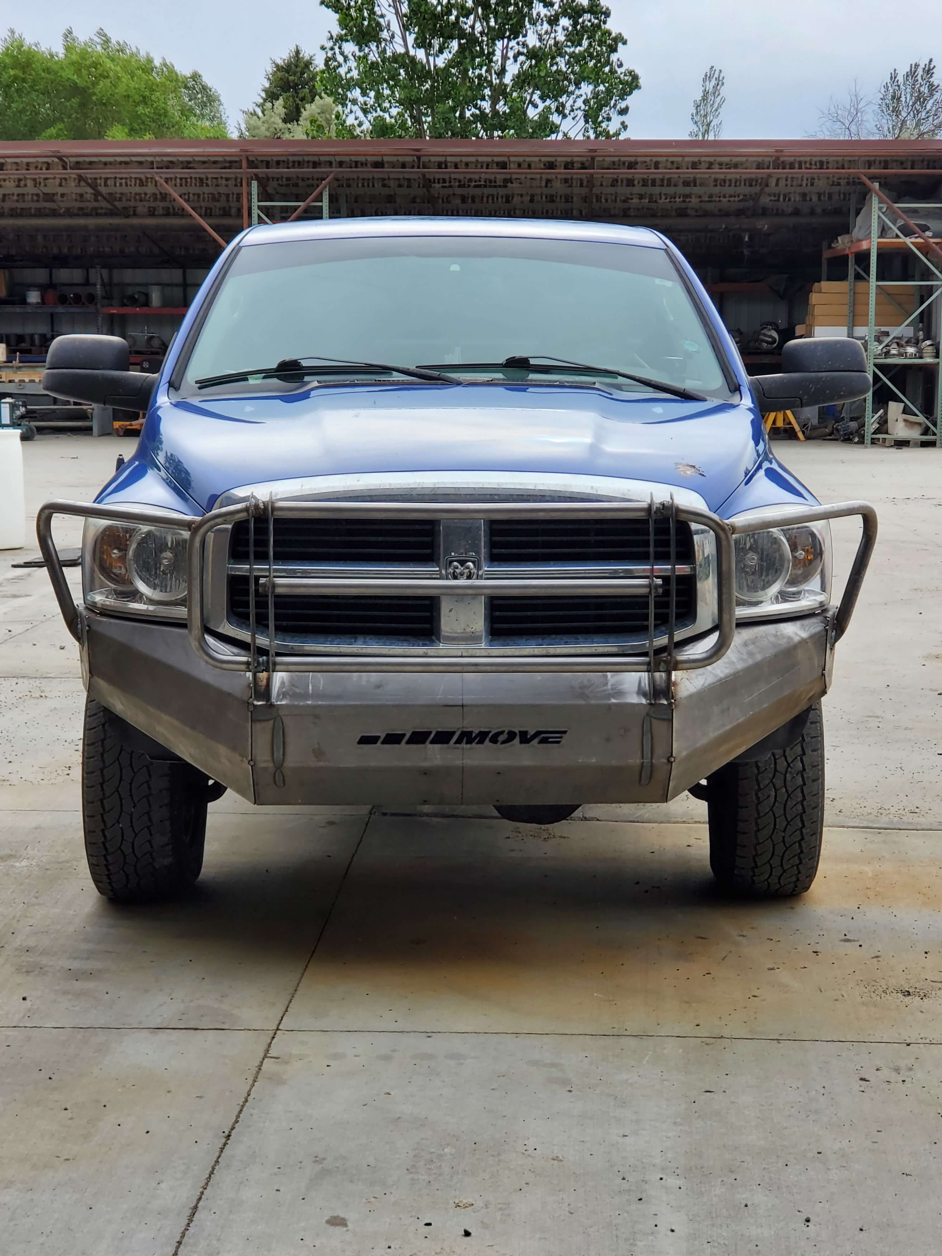 2001 Dodge Ram 2500 Front Bumper : dodge, front, bumper, Heavy, Truck, Bumpers
