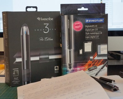 Livescribe vs Digitalstift 2.0
