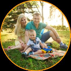 Eco Friendly Wisconsin Family
