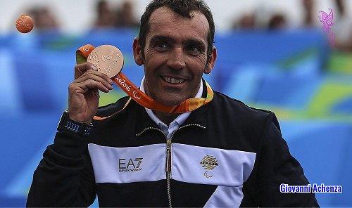 Paralimpiadi di Rio - Giovanni Achenza