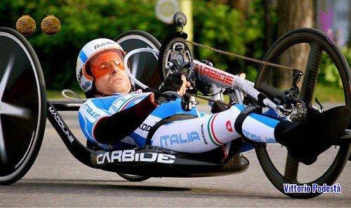 Paralimpiadi di Rio - Vittorio Podestà