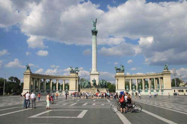 Budapest - Heroes Square