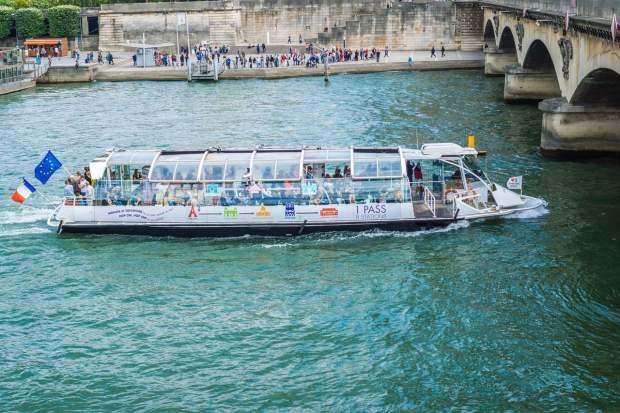 Paris - The Bateau Mouche