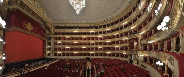 The Scala Theatre - inside
