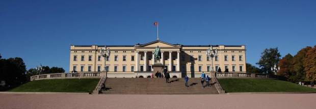 Norway - The Royal Palace in Oslo