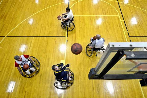 sports and disability - wheelchair basketball
