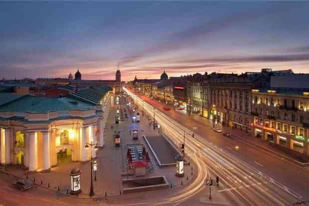 St. Petersburg - Nevsky Boulevard