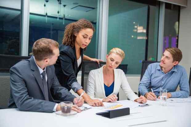 disabilità e carriera - riunione di lavoro