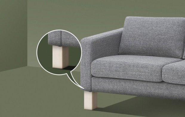 Sollevatore per il divano