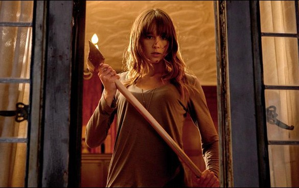 "Sharni Vinson in Adam Wingard's ""You're Next"""