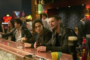"Joseph Gordon-Levitt and Matthew Goode in ""The Lookout"""