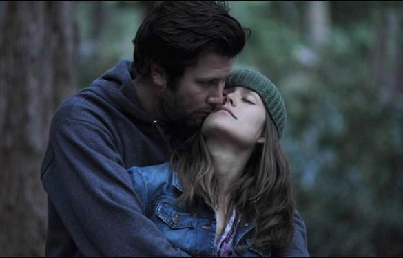 "David Nordstrom and Megan Boone in a scene from Adele Romanski's film ""Leave Me Like You Found Me"""