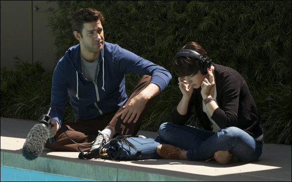 "John Krasinski and Olivia Thirlby in Ry Russo Young's film ""Nobody Walks"""